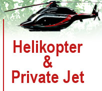 helicopter private jet